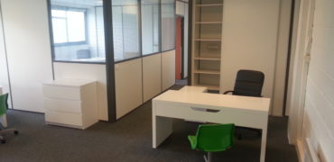 Bureau meublé  en open-space 10 m²
